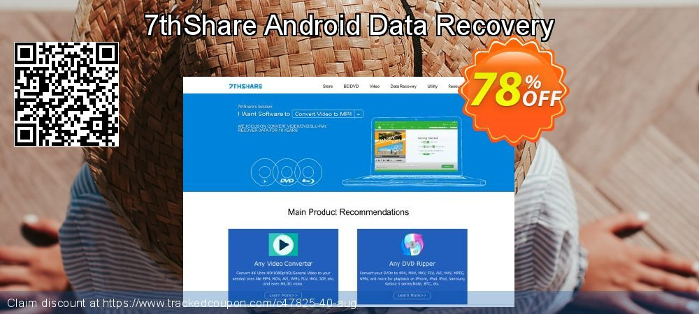 Claim 78% OFF 7thShare Android Data Recovery Coupon discount May, 2020
