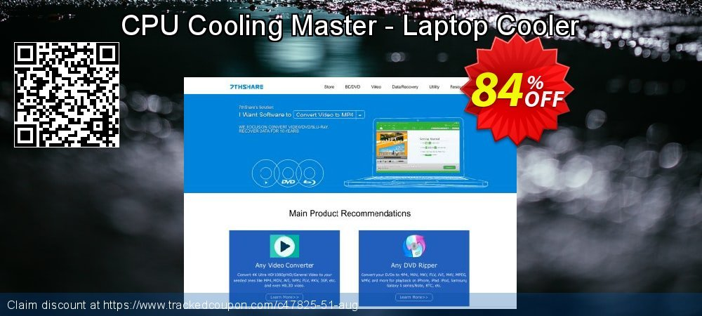 CPU Cooling Master - Laptop Cooler coupon on Christmas Day super sale