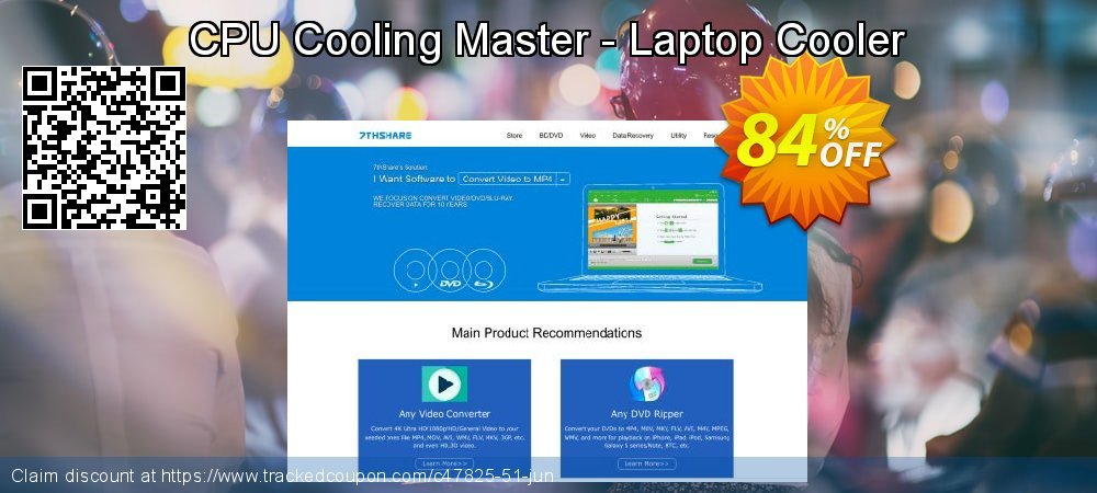 CPU Cooling Master - Laptop Cooler coupon on US Independence Day deals