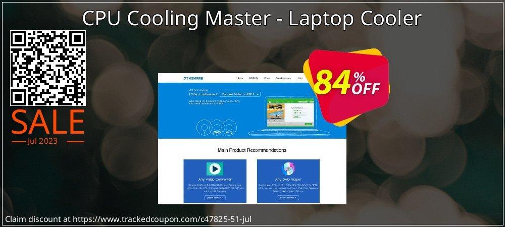 Get 83% OFF CPU Cooling Master - Laptop Cooler promo