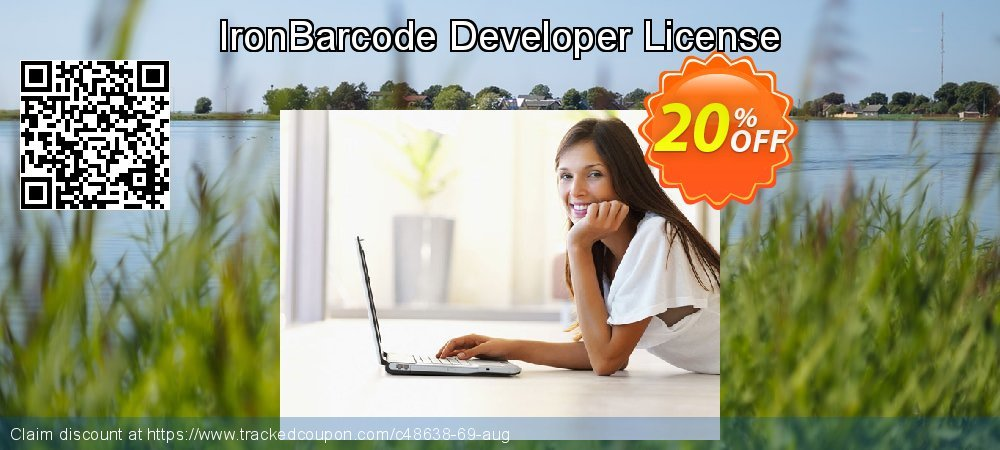 IronBarcode Developer License coupon on Black Friday promotions