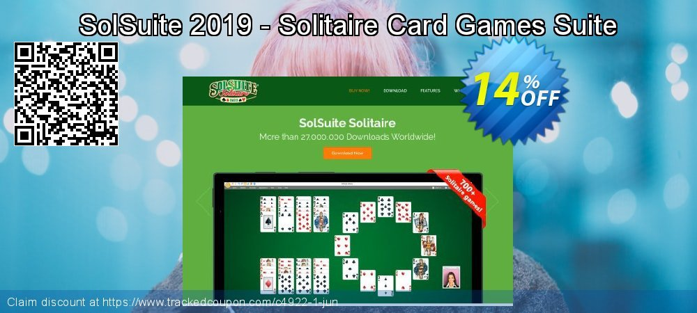 Get 10% OFF SolSuite 2019 - Solitaire Card Games Suite offering sales