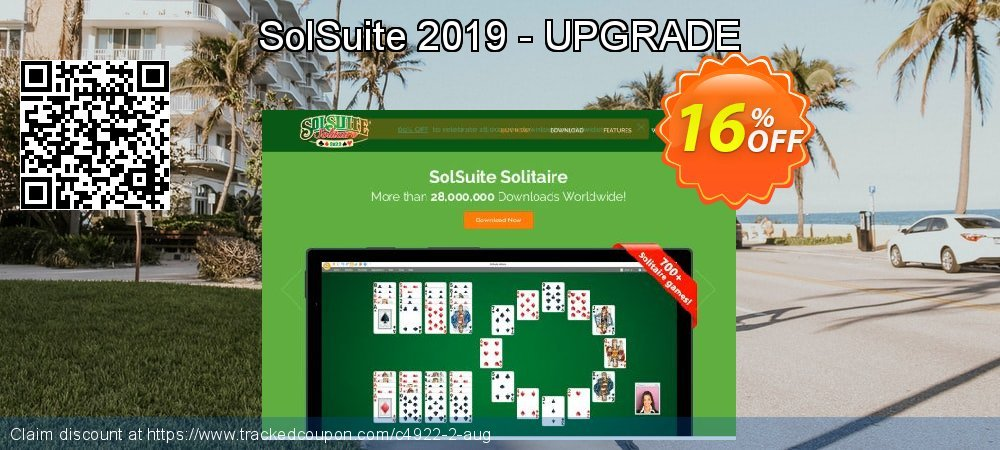 Get 10% OFF SolSuite 2019 - UPGRADE offering sales