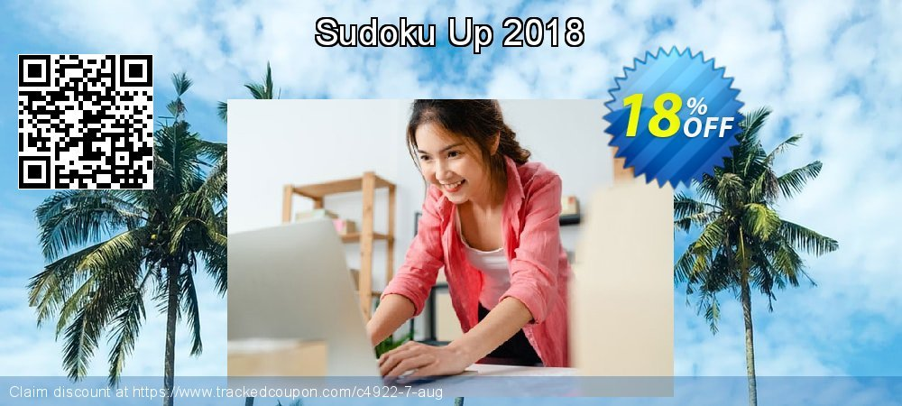 Get 10% OFF Sudoku Up 2018 offer