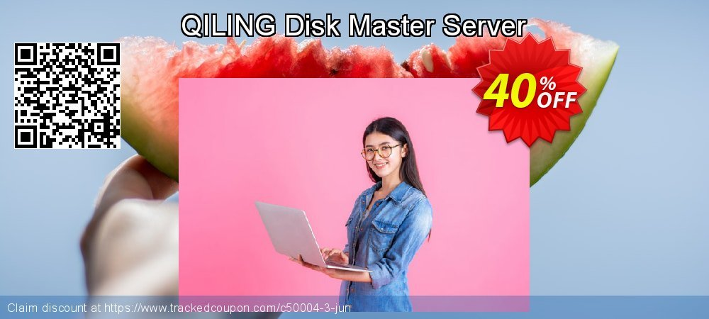 QILING Disk Master Server coupon on Mid-year offering discount