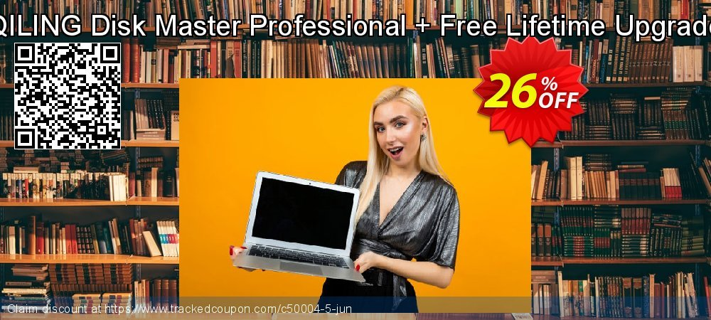 QILING Disk Master Professional + Free Lifetime Upgrade coupon on College Student deals discount