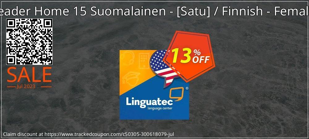 Get 12% OFF Voice Reader Home 15 Suomalainen - [Satu] / Finnish - Female [Satu] offering sales