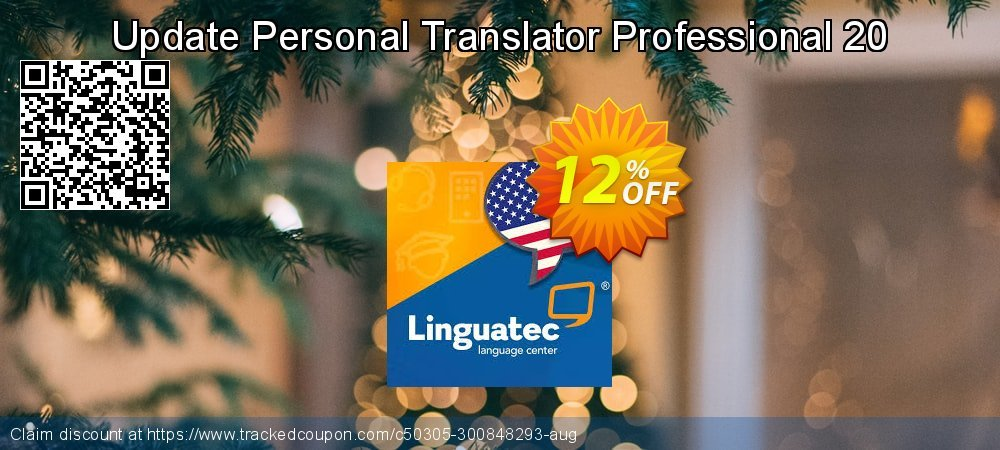 Get 12% OFF Update Personal Translator Professional 20 offering discount