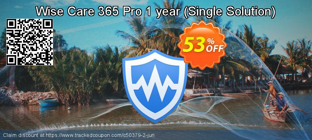 Wise Care 365 Pro 1 year - 1 PC  coupon on New Year discounts