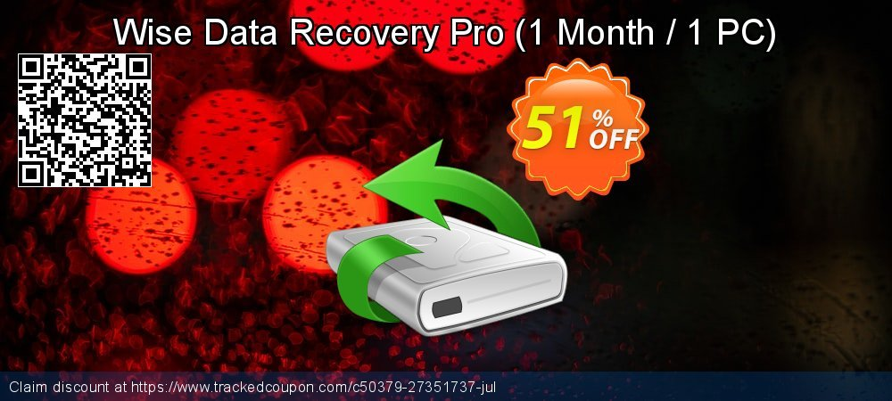 Wise Data Recovery Pro - 1 Month / 1 PC  coupon on Natl. Doctors' Day super sale