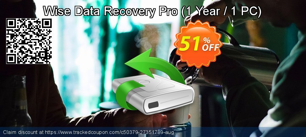 Wise Data Recovery Pro - 1 Year / 1 PC  coupon on Valentine's Day discount