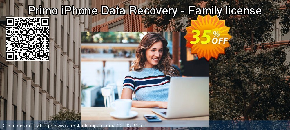 Claim 20% OFF Primo iPhone Data Recovery - Family license Coupon discount July, 2019