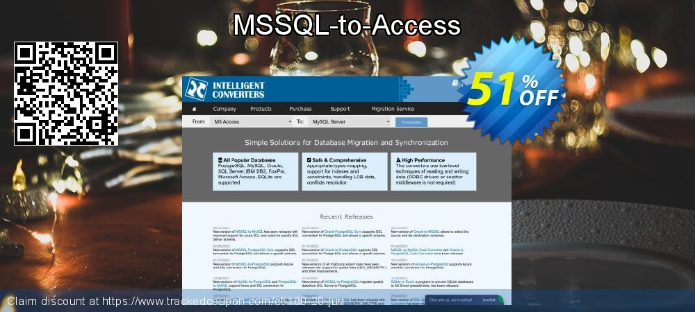 MSSQL-to-Access coupon on New Year offering discount