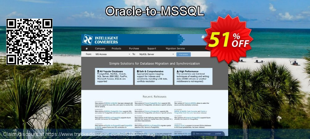 Oracle-to-MSSQL coupon on End year offering discount