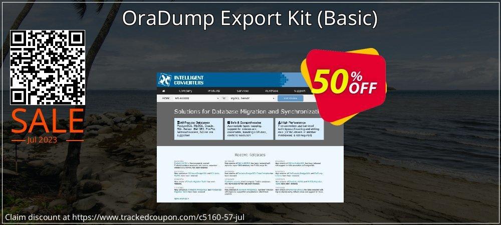 OraDump Export Kit - Basic  coupon on Mid-year deals