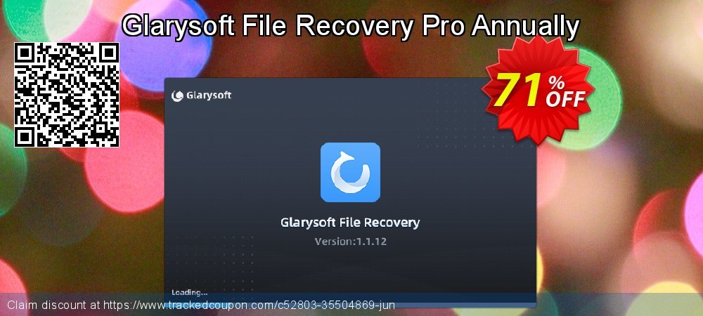 Claim 71% OFF Glarysoft File Recovery Pro Annually Coupon discount August, 2021