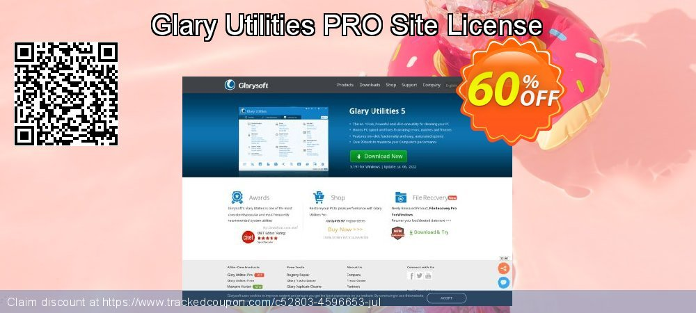 Glary Utilities PRO Site License coupon on Easter Sunday offering discount