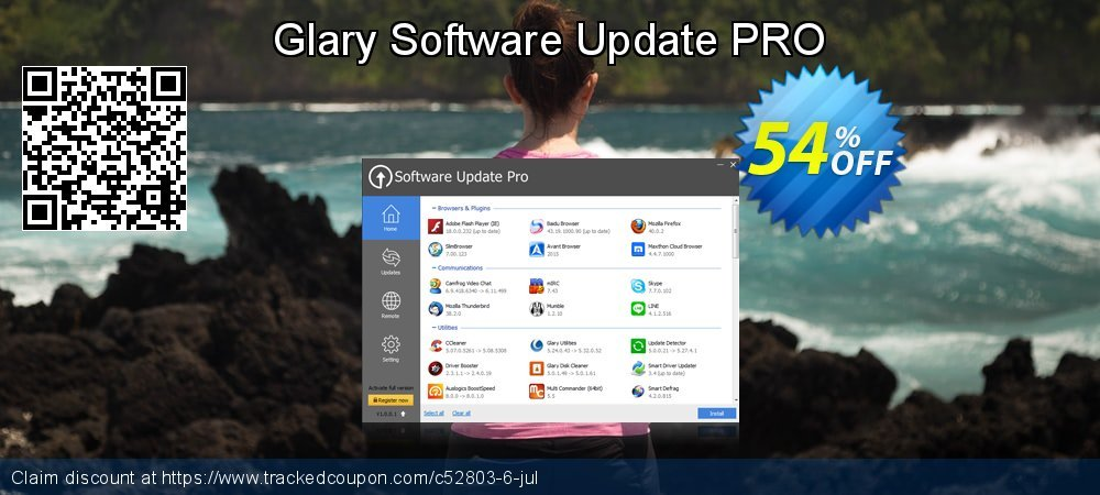 Glary Software Update PRO coupon on April Fool's Day promotions