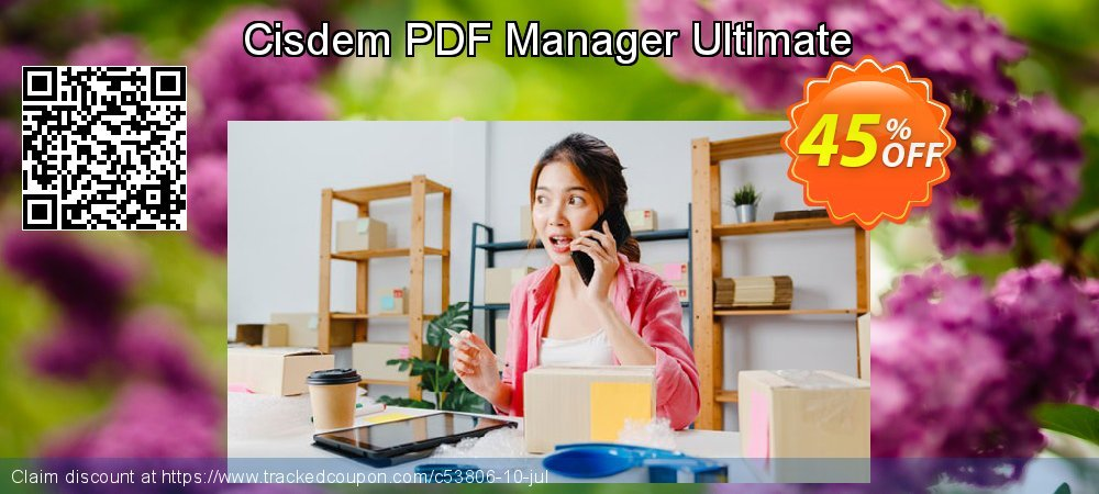 Cisdem PDF Manager Ultimate coupon on Halloween offering discount