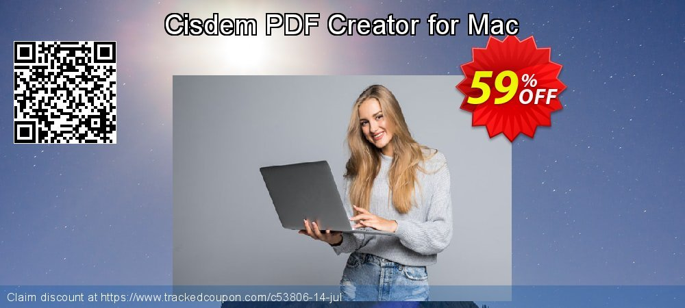 Cisdem PDF Creator for Mac coupon on Halloween promotions