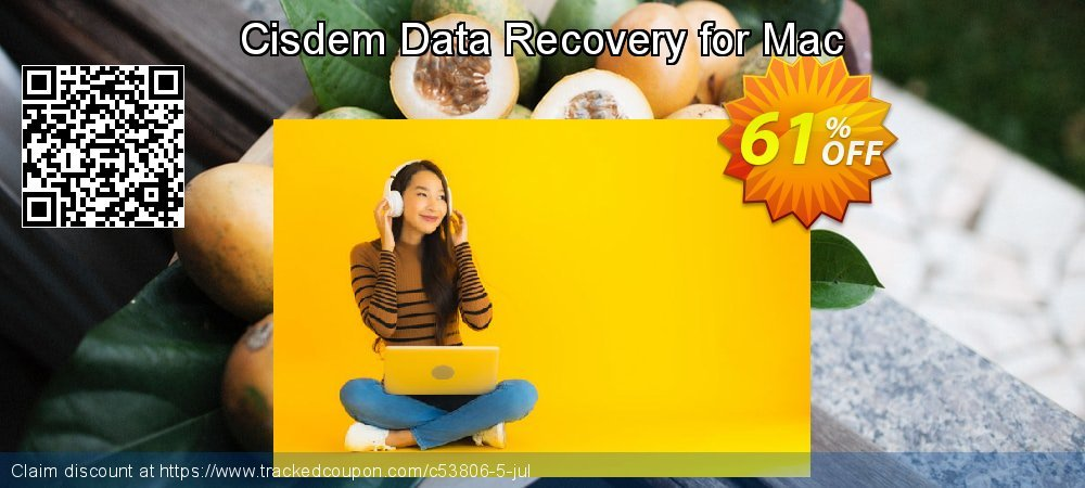 Claim 47% OFF Cisdem Data Recovery for Mac Coupon discount June, 2019