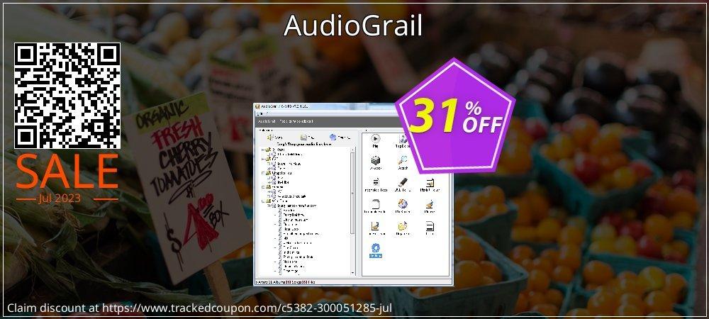 Get 30% OFF AudioGrail deals