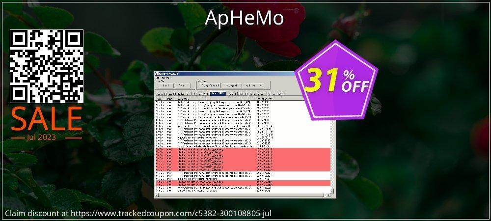 Get 30% OFF ApHeMo offering sales