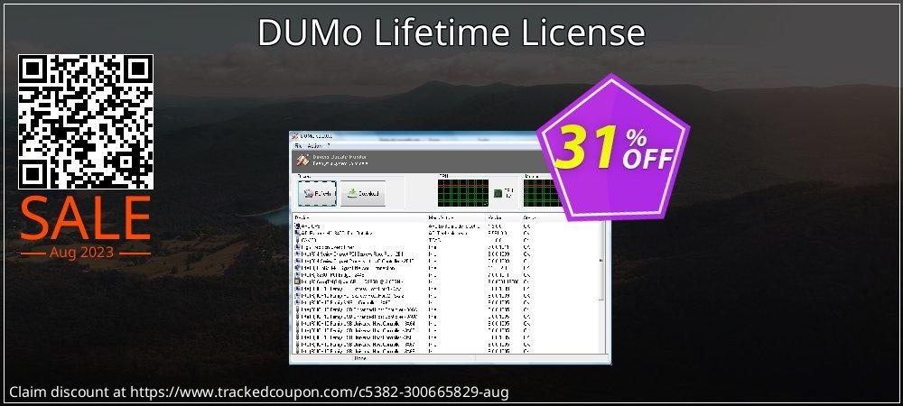Get 30% OFF DUMo Lifetime License deals