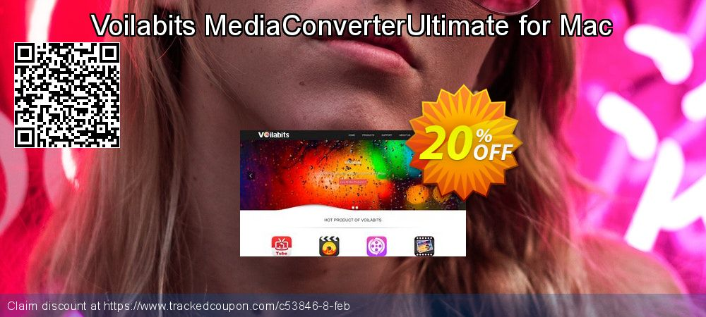 Get 20% OFF Voilabits MediaConverterUltimate for Mac offering sales