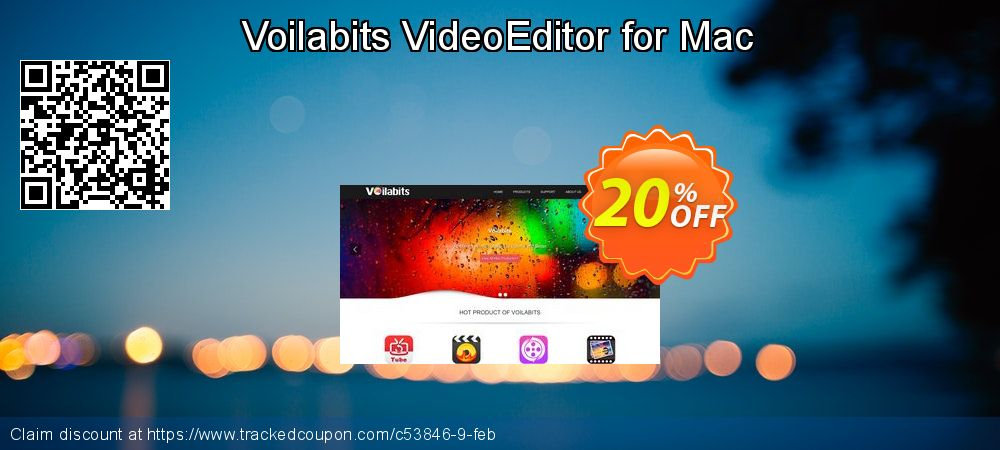 Voilabits VideoEditor for Mac coupon on Back to School promotions super sale