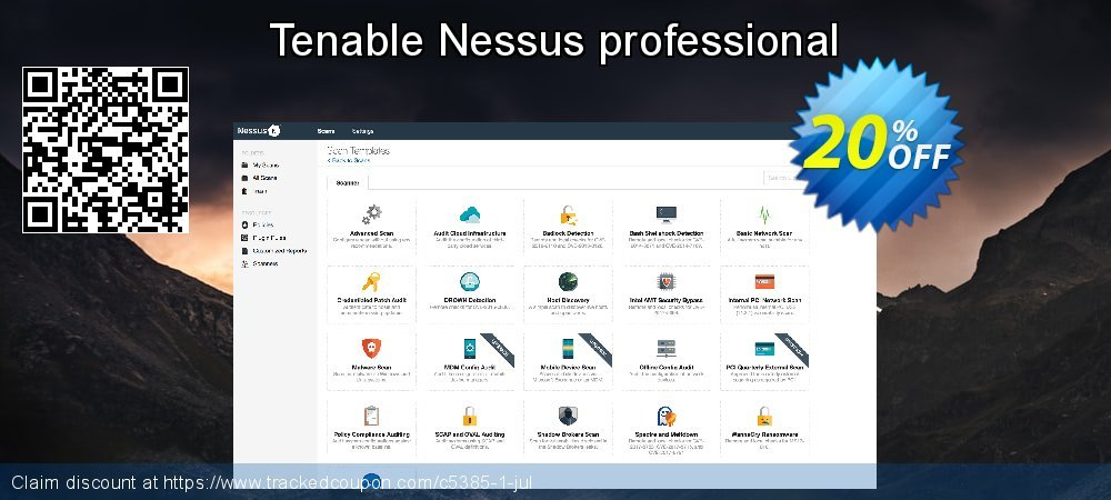 Tenable Nessus professional coupon on American Chess Day offer