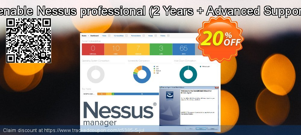 Tenable Nessus professional - 2 Years + Advanced Support  coupon on Grandparents Day super sale