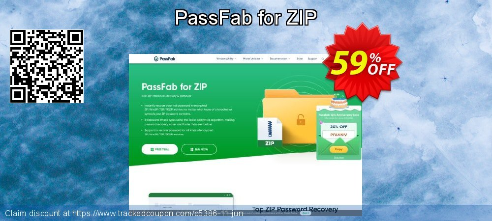 Claim 59% OFF PassFab for ZIP Coupon discount October, 2020