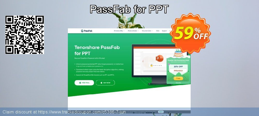 Claim 59% OFF PassFab for PPT Coupon discount October, 2020