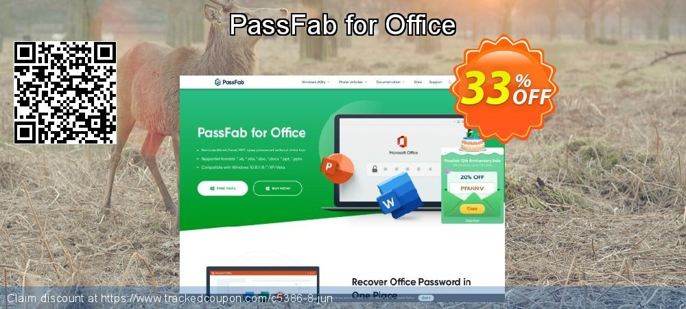 Claim 33% OFF PassFab for Office Coupon discount October, 2020