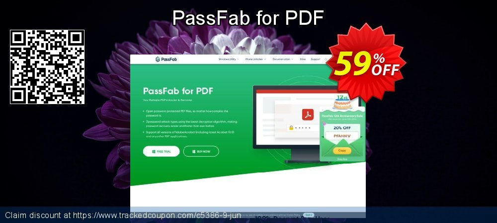 Claim 59% OFF PassFab for PDF Coupon discount October, 2020