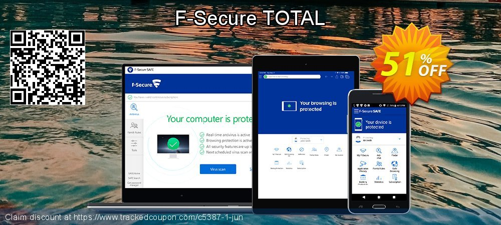 F-Secure TOTAL coupon on April Fool's Day discounts