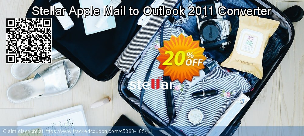 Stellar Apple Mail to Outlook 2011 Converter coupon on New Year's Day offer