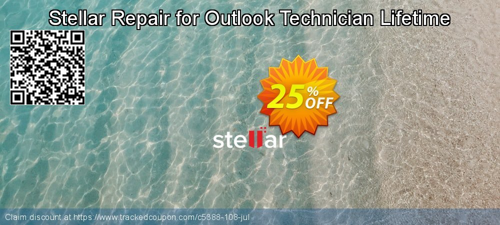 Get 20% OFF Stellar Phoenix Outlook PST Repair offer - Technician promotions