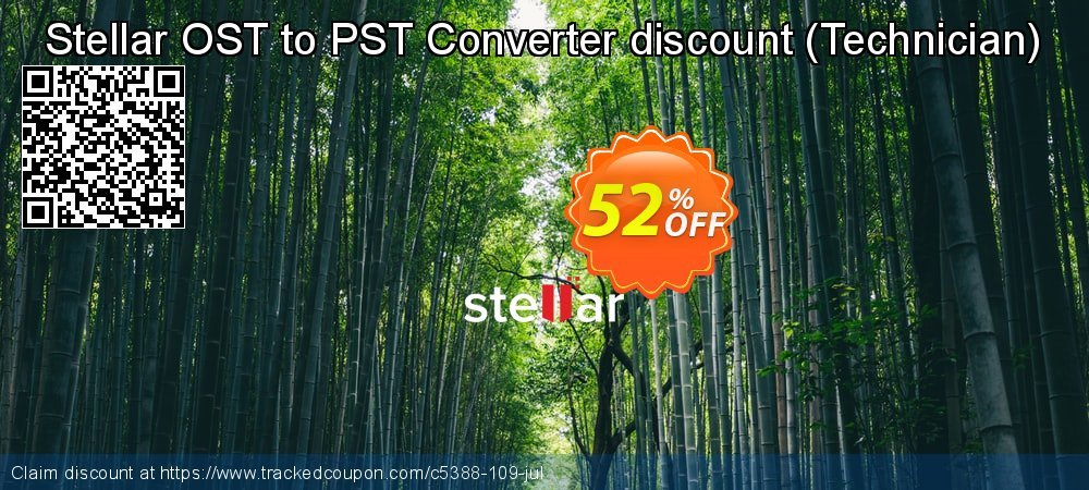 Stellar OST to PST Converter discount - Technician  coupon on New Year's Day super sale