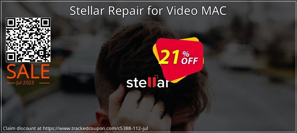 Stellar Repair for Video MAC coupon on New Year sales