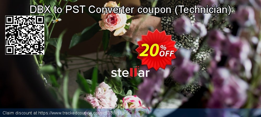 DBX to PST Converter coupon - Technician  coupon on Happy New Year super sale