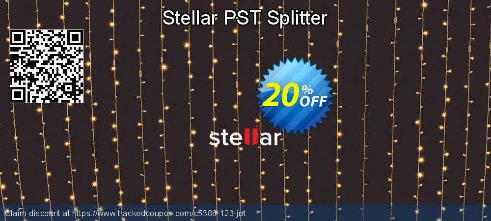 Stellar PST Splitter coupon on Lunar New Year offer