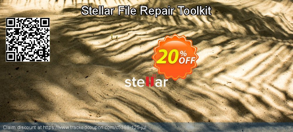 Stellar File Repair Toolkit coupon on New Year's Day offering discount