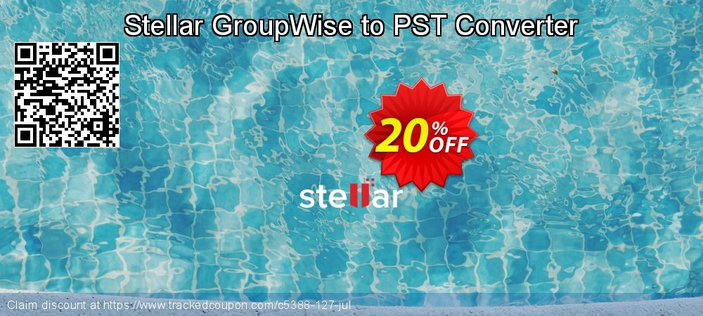 Stellar GroupWise to PST Converter coupon on Lunar New Year super sale