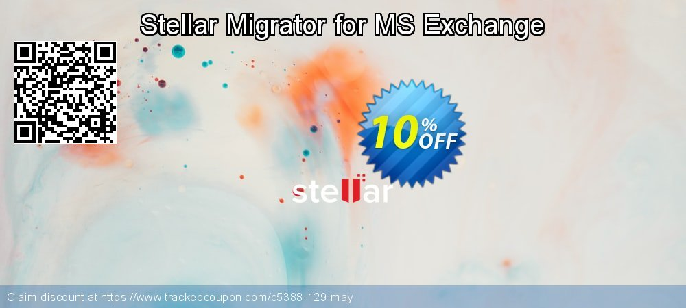 Stellar Migrator for MS Exchange coupon on New Year's Day promotions