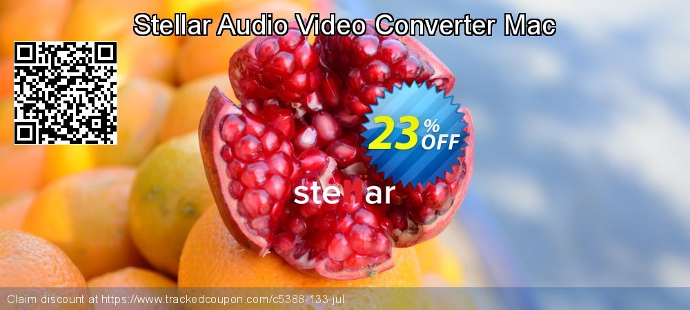 Stellar Audio Video Converter Mac coupon on New Year's Day discount