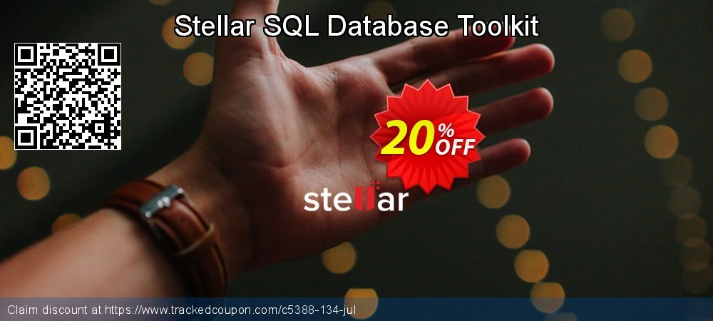 Stellar SQL Database Toolkit coupon on Happy New Year offering discount