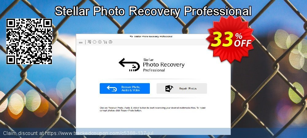 Claim 33% OFF Stellar Photo Recovery Professional Coupon discount May, 2019
