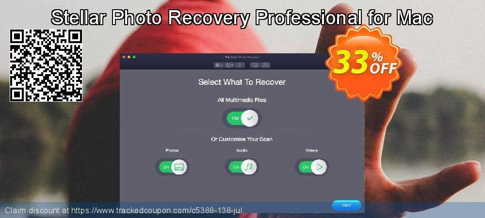 Claim 33% OFF Stellar Photo Recovery Professional (MAC) Coupon discount May, 2019
